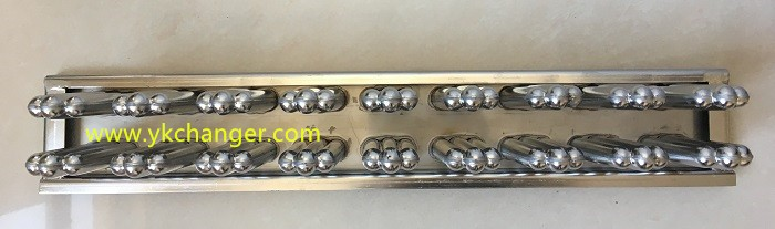 Customized ice cream mold stainless steel plate 2X9 18cavities