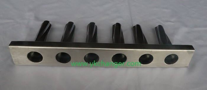 Stainless ice cream molds inline molds